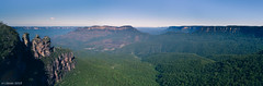 Three Sisters and Mount Solitary (Liessec) Tags: landscape mountain blue mountains katoomba australia