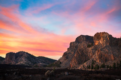 Morning light (Rico the noob) Tags: 2018 rock d850 landscape published mountains outdoor 2470mmf28 clouds trees nature tree tenerife forest sunrise stones sky dof teneriffa 2470mm rocks mountain