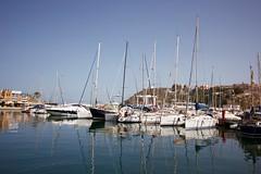 Spain (Bob Bain1) Tags: spain murcia mazarron travel canoneos harbour reflections