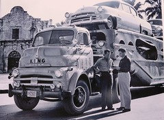 Dodge COE, King Transport #158 (PAcarhauler) Tags: dodge plymouth carcarrier coe tractor trailer