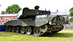 British Army Challenger 2 MBT (62KK28) at Coleraine Armed Forces Day, 2018 (nathanlawrence785) Tags: vehicle transport truck car show festival ballymena coleraine steam rally armed forces day scania daf erf volvo humber challenger 2 tank mbt