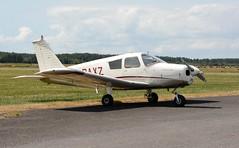 G-BAXZ (goweravig) Tags: gbaxz piper cherokee carmarthenshire wales uk pembreyairport pembrey visiting aircraft