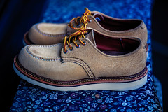 My Repaired Shoes (moaan) Tags: kobe hyogo japan jp shoes suedeshoes repaired refreshed redwing oxford atmosphere changeofmood focusonforeground selectivefocus depthoffield dof canoneos5dsr zeissmakroplanart2100ze utata 2018 makroplanart2100