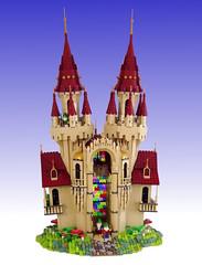 Gnome Castle (Swan Dutchman) Tags: lego summerjoust 2018 contest castle fantasy fairy gnome kabouter kasteel