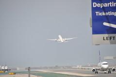 いざ Japan へ (yuki_alm_misa) Tags: boeibg シンガポール航空 b77w singaporeairlines b777 b777300er plane losangelesinternationalairpor ロサンゼルス国際空港 lax 飛行機 airplane