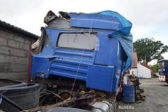 DSC_0106 (richellis1978) Tags: m edwards transport shrewsbury truck lorry haulage erf ec scrap parts rust