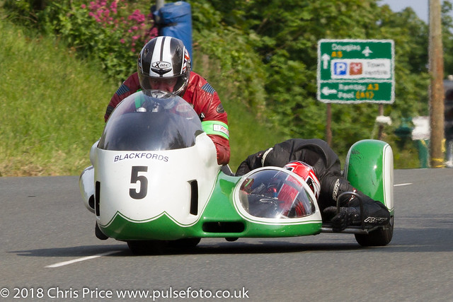 Pre TT Classic Billown 2018 Sidecar Heat 2
