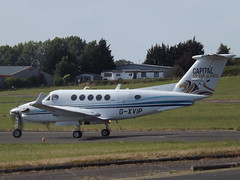 G-XVIP Beech Super King Air 200 (Capital Air Ambulance uk/Capital Air Charter Ltd) (Aircaft @ Gloucestershire Airport By James) Tags: gloucestershire airport gxvip beech super king air 200 capital ambulance ukcapital charter ltd egbj james lloyds
