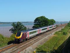 Powderham Voyager (3) (Marky7890) Tags: xc 220000 class220 voyager 1v54 powderham railway starcross devon rivieraline train