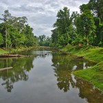 Moat around Preah Khan temple in Angkor Archeological Park near Siem Reap, Cambodia thumbnail