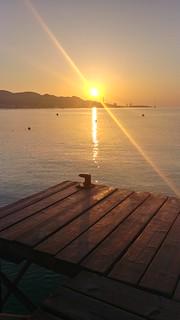 Sortida de sol a Alcudia