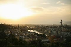 Florencja zachod slonca