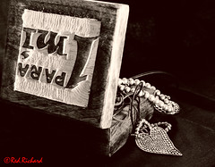 Jewelery box (red.richard) Tags: bw monochrome still life jewelry box heart silver
