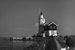 Marken - il faro; Marken - lighthouse (58lilu58) Tags: faro marken biancoenero mare