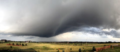 Unusual Thunderstorm Base Structure (northern_nights) Tags: thunderstorm unusualcloud darkskies weather storm cheyenne wyoming pano panorama