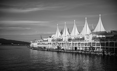 Canada-Place (Photo Alan) Tags: canada canadaplace blackwhite blackandwhite cloud clouds water waterfront monochrome sea landscape leica leicam10 leicasummicron35mmf20 vancouver vancouverdowntown vancouverstreet