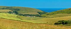 The farm in the valley, Lulworth, Dorset, England (Oswald Bertram) Tags: summer sommer verano été inglaterra inghilterra angleterre granbretaña grandebretagne greatbritain granbretagna grosbritannien