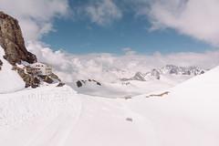 Mönchsjochhütte (wrenee.com) Tags: 2018 drone glacier alps djimavicair jungfraujoch mountain swissalps switzerland grindelwald bern ch