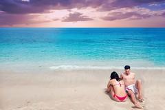 Love (pinomangione) Tags: pinomangione landscape mare tropea sky persone spiaggia acqua cielo sabbia calabria sea