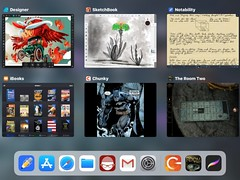 Day Use Apps (Orbmiser) Tags: ipad ipadpro105 apps notability chunky affinitydesigner theroom2 ibooks autodesksketchbook ios