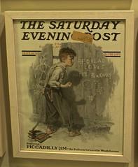 Norman Rockwell Saturday Evening Post Cover (pecooper98362) Tags: stockbridge massachusetts normanrockwellmuseum normanrockwell magazinecover thesaturdayeveningpost september161916 pelhamgrenvillewodehouse pgwodehouse