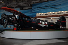 Travel Air 6000 NC8878 Delta Airlines at Delta Flight Museum (Conor O'Flaherty) Tags: delta airlines atlanta museum travel air