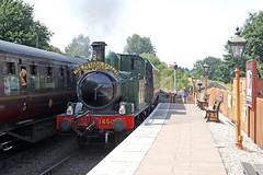1450 GWR Collett (1932) (Roger Wasley) Tags: 1450 gwr collett svr severnvalleyrailway trains railways steam locomotive arley heritage station