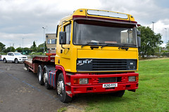 ERF EC14, Ballee, 21st Jul 2018 (nathanlawrence785) Tags: vehicle transport truck car show festival ballymena coleraine steam rally armed forces day scania daf erf volvo humber challenger 2 tank mbt