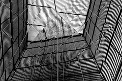 Abstract Architecture #36 (Sean Batten) Tags: london england unitedkingdom gb morelondon city urban nikon df 35mm blackandwhite bw reflection lines architecture abstract