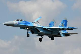 58.EGVA Sukhoi Su27P1M Flanker 14-07-18