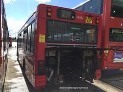 Stagecoach London Dennis Dart SLF (34382) (anthonymurphy5) Tags: travel transport outside exstagecoachlondon34382 lx03bzp dennisdartslf plaxtonpointer2 seenatgillmossbusgarageliverpool dadnladtransportphotos photography busphotography busgarage buspictures busspotting bus