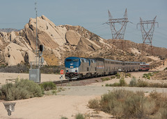 A Chiefly Appearance (Night Stalker Photo Works, LLC.) Tags: bnsf cajonpass amtrak ethanol passengertrain mormonrocks desert mojave mountainrailroading