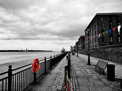 IMG_7085 (3) (Gussyfinknottle) Tags: colour colourhighlight blackandwhite bandw bw liverpool mersey merseyside rivermersey river albertdock city england outdoors britain beautiful overcast