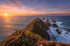 World's End (inkasinclair) Tags: nugget point lighthouse catlins new zealand south island sunrise landscape coast water