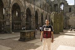 83 Holyrood Abbey (chibi.suomi) Tags: chibi suomi siby sibylle morel scotland ecosse edimbourg edinburgh glasgow quartier libre camera obscura holyrood house dunvegan isle skye loch ness urquhart eilean donan calton lomond highlands highland inveraray