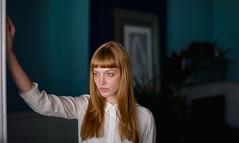 Stefani (Aboutlight_) Tags: naturallight availablelight redhead barcelona moody dop portrait woman light aboutlight
