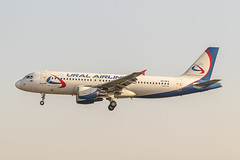 Airbus A320-214 VQ-BFW Ural Airlines (msd_aviation) Tags: airbus a320 bcn lebl barcelona elprat airport landing spotters spotting aviation aviationpics canon eos1300d