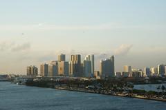 Port Miami (Suzanne's stream) Tags: miami port cruise florida downtown kreuzfahrtschiffe terminal