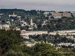 Bath viewpoint from Prior Park 2018 08 02 #3 (Gareth Lovering Photography 5,000,061) Tags: bath prior park nationaltrust gardens palladian bridge serpentine lakes viewpoint england olympus penf 14150mm 918mm garethloveringphotography