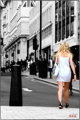 IMG_4985 (psychosteve-2) Tags: random lady woman london town bw