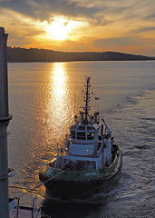 Escort (MSGS4) Tags: cork harbour ireland water river sea shore lights doyleshippinggroup robertallen tug asd escort towage