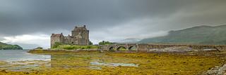 Ecosse Eilean Donan Castle - approche