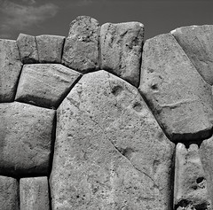 Inca Stonework, Sacsayhuaman, Cusco, Peru (austin granger) Tags: inca stonework cusco peru wall citadel ruins fortress remains time evidence archaeology architecture fitted square film gf670 sacsayhuaman