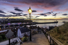 Seeing the light! (Dave Cappleman) Tags: seeingthelight davecappleman davecapplemanphotography whitby whitbydistrict yorkshire northyorkshire coast coastal sea seaside colour colourful bright sunrise dawn sunset town village beach cliffs sky clouds landscape landscapes composition water season seasonal memories