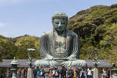 高徳院、鎌倉、日本 – Kōtoku-in, Kamakura, Japan (Tiphaine Rolland) Tags: japan japon nikond3000 nikon d3000 spring printemps 2018 kamakura 日本 春 鎌倉 buddhism bouddhisme buddha bouddha kōtokuin kotokuin 鎌倉大仏殿高徳院 高徳院 大仏 仏教 寺 仏陀 statue sculpture bleu blue 青い