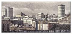 Birmingham(UK) (williamwalton001) Tags: pentaxart texture tones buildings borders church clouds colourimage birminghamuk weather windows ure work sincity