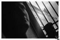 Louvre, Paris (orichier) Tags: 3200 delta film ilford bust sculpture art monochrome window light shadow white black blackandwhite paris france