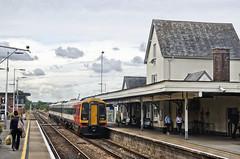 159 020, Gillingham, Dorset (Yeovil Town) Tags: gillinghamdorset 159020 londonwaterloo exeterstdavids
