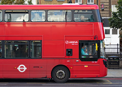 Arriva London HV327 (cybertect) Tags: arriva arrivalondon carlzeissvariosonnart3570mmf34mm hv327 islington lj17wou london londonboroughofislington londonn1 londonbus n1 sonya7ii volvob5lh wrighteclipsegemini3 bus doubledecker