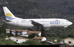Aviolet Boeing 737-3H9 YU-ANK @ Skiathos Airport (LGSK/JSI) (Joshua_Risker) Tags: skiathos airport lgsk jsi greece aviolet air serbia airserbia boeing 737 737300 7373h9 belgrade yuank